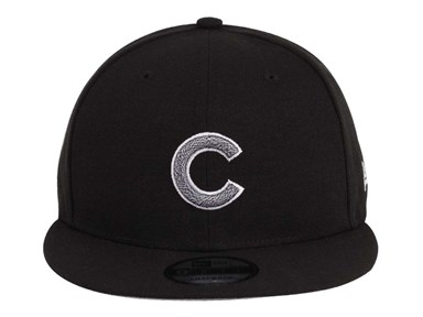 Chicago Cubs MLB Team Twisted Black 9FIFTY Cap