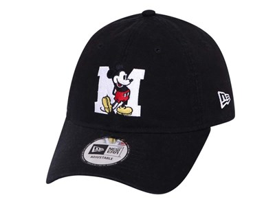 Mickey Mouse Disney M Black 9THIRTY Cap
