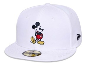 Mickey Mouse Disney White 59FIFTY Cap (LAST STOCK Size 7 1/8)