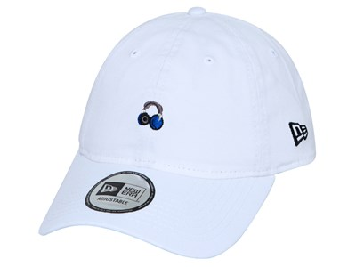 New Era Headset Mini Logo White 9THIRTY Cap