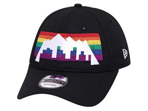 Denver Nuggets NBA City Series Black 9TWENTY Cap