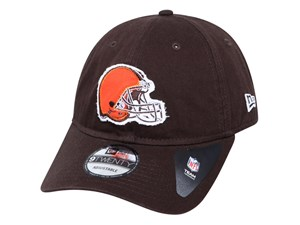Cleveland Browns NFL Team Circle Dark Brown 9TWENTY Cap