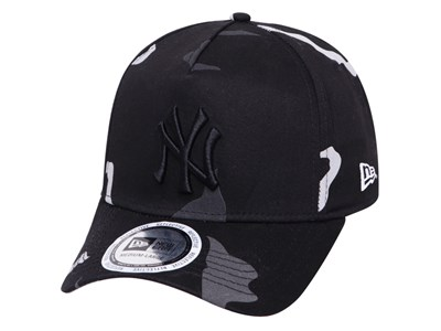 New York Yankees MLB Reflective Camo Black 9FORTY K-Frame Cap