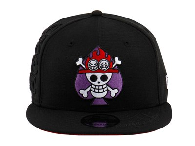 One Piece Marineford Ace Black 9FIFTY Cap