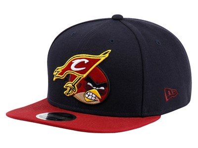 Cleveland Cavaliers NBA X Angry Bird Navy 9FIFTY Cap