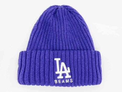 Los Angeles Dodgers MLB Beams Light Royal Wool Cuff Knit Beanie  (ONLINE EXCLUSIVE)