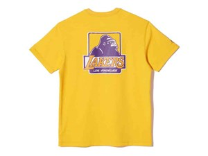 Los Angeles Lakers NBA XLarge Short Sleeve Yellow Shirt (LAST STOCK Size S)