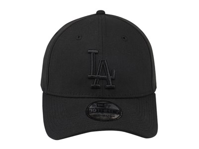 Los Angeles Dodgers MLB Black on Black 39THIRTY Cap