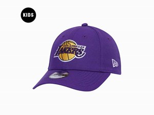 Los Angeles Lakers NBA Purple 9FORTY Youth Kids Cap