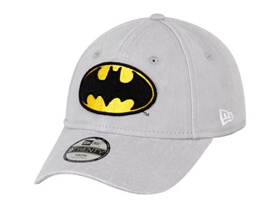 Batman DC Rugged Wash Youth Gray 9TWENTY Cap