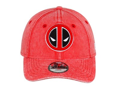 Deadpool Marvel Rugged Wash Youth Red 9TWENTY Cap