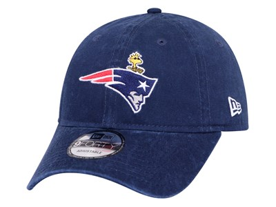 New England Patriots NFL Peanuts Snoopy Ocean Blue 9FORTY Unstructured Cap