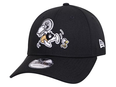 Oakland Raiders NFL Peanuts Snoopy Black 9FORTY Cap
