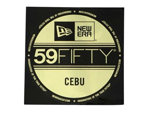 New Era Cap Cebu Brass Logo Sticker