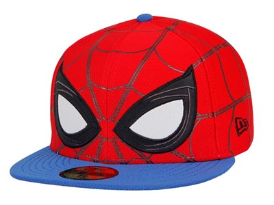 Spiderman Marvel Allover Red Blue 59FIFTY Cap