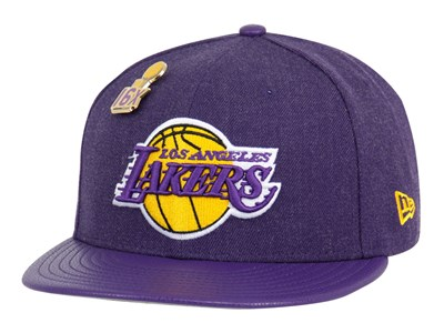 Los Angeles Lakers NBA Pin Purple 59FIFTY Cap