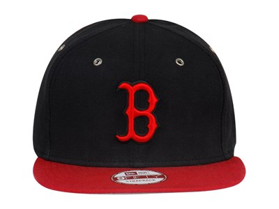 Boston Red Sox MLB Primary Strap Black Red 9FIFTY Cap