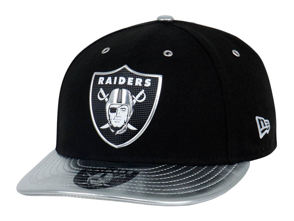 Oakland Raiders NFL 2017 Spotlight Black 59FIFTY LP Cap  5a9a2133eba