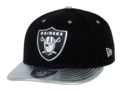 Oakland Raiders NFL 2017 Spotlight Black 59FIFTY LP Cap