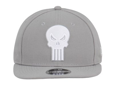 Punisher Marvel League Basic SNP2 Gray 9FIFTY Cap