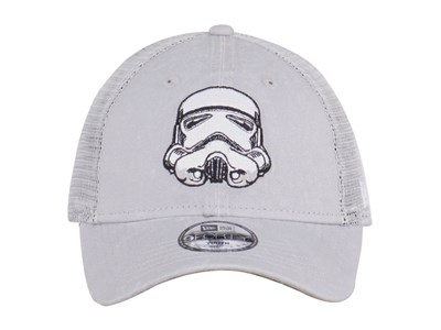 Stormtrooper Star Wars Trucker Washed Gray 9FORTY Cap