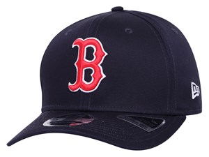Boston Red Sox MLB Team Stretch Snap Navy 9FIFTY Cap