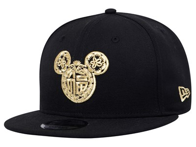 Mickey Mouse Disney Chinese New Year Black 9FIFTY Cap