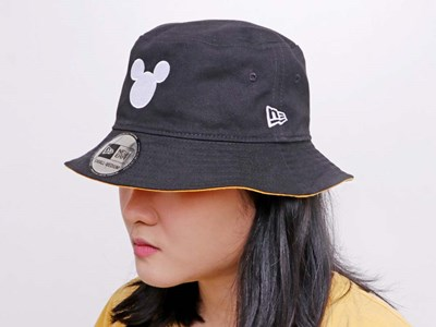 Mickey Mouse Disney Black Red Reversible Bucket Hat (Philippine Exclusive)