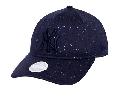 New York Yankees MLB Sparkle Navy 9TWENTY Womens Cap
