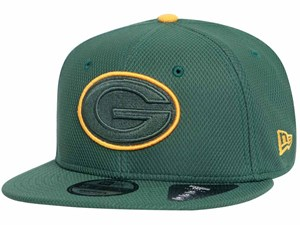 Green Bay Packers NFL Team Outline Dark Green 9FIFTY Cap