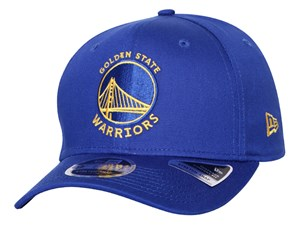 Golden State Warriors NBA Team Stretch Snap Blue 9FIFTY Cap  (LAST STOCK  Size S/M)