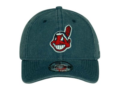 Cleveland Indians MLB Rugged Wash Navy 9TWENTY Cap