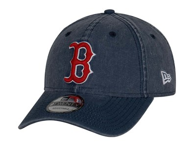 Boston Red Sox MLB Rugged Wash Navy 9TWENTY Cap