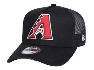 Arizona Diamondbacks MLB Trucker Torn Black 9FORTY A-Frame Trucker Cap