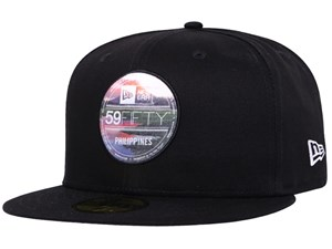Mayon New Era Landscape Brass Logo Black 59FIFTY Cap (LAST STOCK)