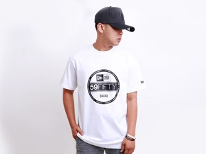New Era Davao Philippine Collection Brass City Visor Short Sleeves White Shirt