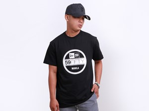 New Era Manila Philippine Collection Brass City Visor Short Sleeves Black Shirt