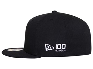 New Era 100th Flag Centennial Logo Side All Black 59FIFTY Cap (LAST STOCK)