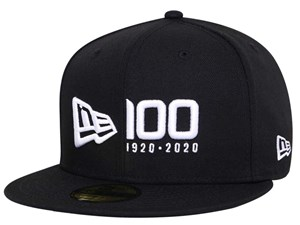 New Era 100th Logo Centennial Black 59FIFTY Cap