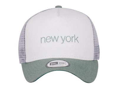New Era Color Denim NY White Green 9FORTY Cap