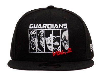 Guardians of the Galaxy Marvel Lineup Black 9FIFTY Cap