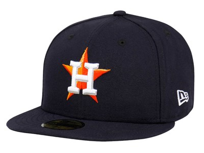 Houston Astros ACPerf HM On Field 2017 MLB Black 59FIFTY Cap