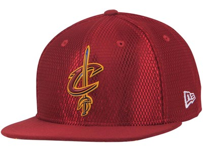 Cleveland Cavaliers NBA 2017 On Court Red 9FIFTY Cap
