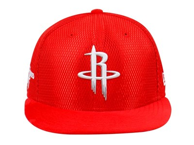 Houston Rockets NBA 2017 On Court Red 9FIFTY Cap