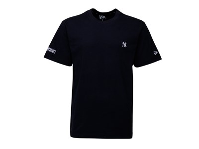 New York Yankees MLB Tee Mini Logo  Slee Navy Shirt