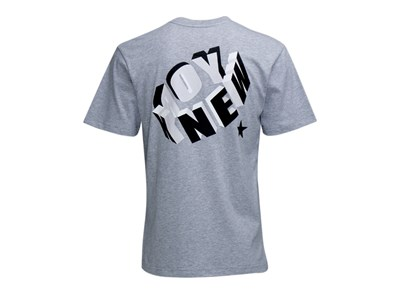 New Era 3D NY Short Sleeves Gray Shirt