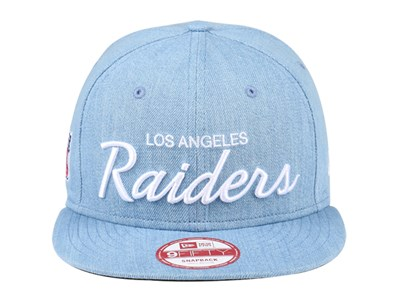Los Angeles Raiders NFL Denim 9FIFTY Cap