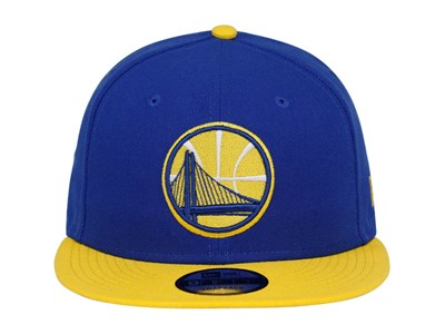 Golden State Warriors NBA Two Tone Blue Yellow 9FIFTY Cap