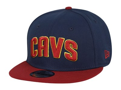 Cleveland Cavaliers NBA Two Tone Blue Red 9FIFTY Cap