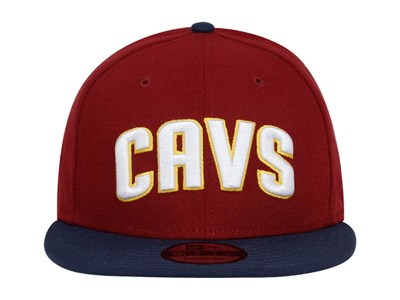 Cleveland Cavaliers NBA Two Tone Red Blue 9FIFTY Cap